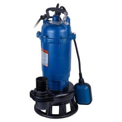 фекальный насос (1.1 кВт Hmax 12 м Qmax 300 л/мин) для канализации с ножом Aquatica WETRON 773372