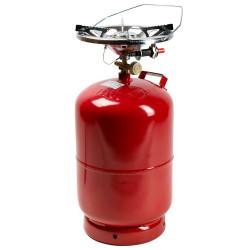 """Газовый комплект Rudyy RK-5 (2.6kw/пьезо) """"Пикник-Italy"""" 12,5 литров"""