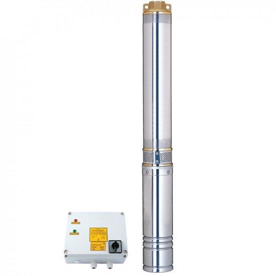 глубинный трехфзный насос 4SD10/22 (4.0 кВт, Hапор: 136 м, Производит 240 л/мин, Ø102мм) Aquatica (DONGYIN) (7771663)