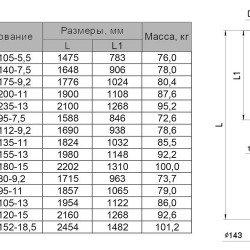 6SPW 12-105-5,5 Sprut глубинный насос для скважин