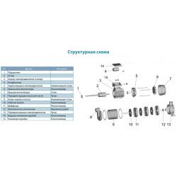 3XCm100S-775411 (600 Вт - 80 л/мин - напор: 33.5 м - медь)LEO(Aqutica) насос центробежный многоступенчатый