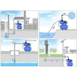 JET100A(a) (1100 Вт - 65 л/мин - напор: 50 м) EuroAqua насосная станция водоснабжения