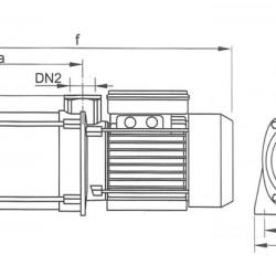 поверхностный насос CPM 158 (750 Вт - 85 л/мин - напор: 45 м) центробежные насосы EuroAqua