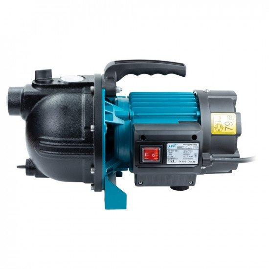 Поверхностный насос (1 кВт, напор: 44 м производит: 73 л/мин) центробежный самовсасывающий  LEO (775347)