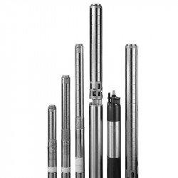 Насос глубинный промышленный (30 кВт, напор max: 150 м, производит max: 1667 л/мин) центробежный SJ 75-8 SWSP 6S Varna